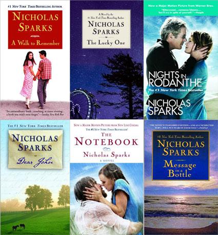 Image result for nicholas spark books